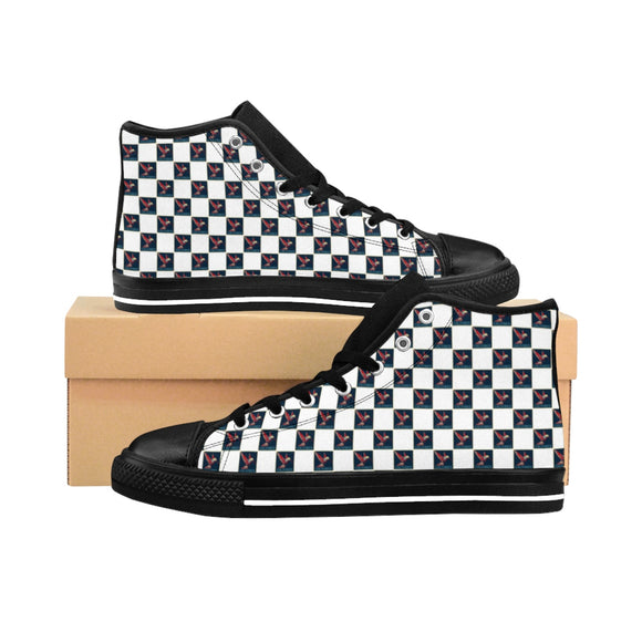 CaliVibes Chess Men's High-top Sneakers