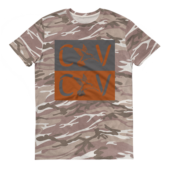 Calivibes CV Short-sleeved camouflage t-shirt