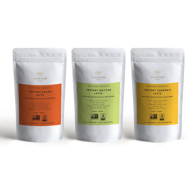 Glow Flow Latte Blend Sample Pack