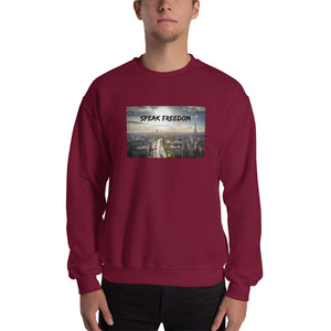 Speak Freedom Men's Sweatshirt