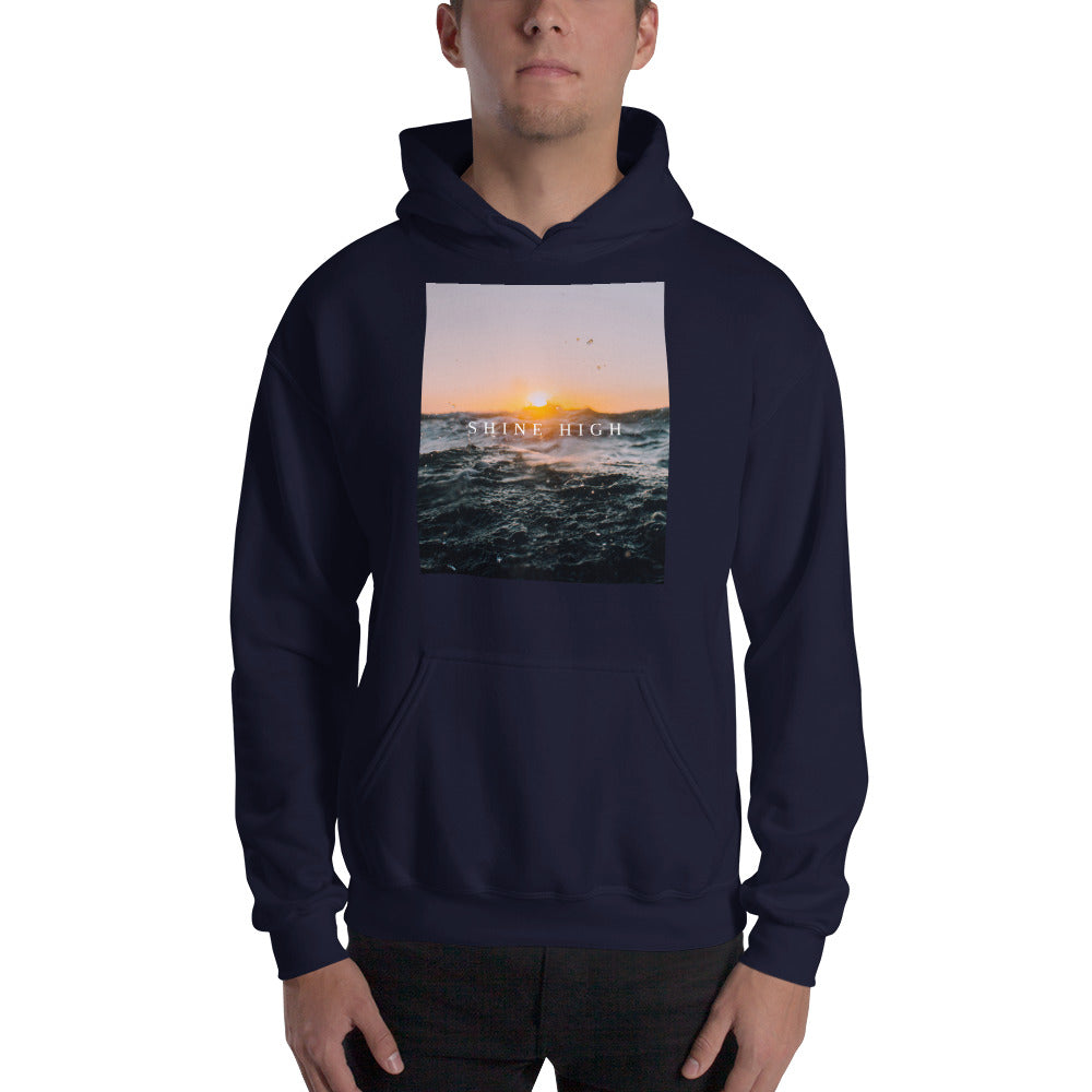 Shine High Men's Hooded Sweatshirt