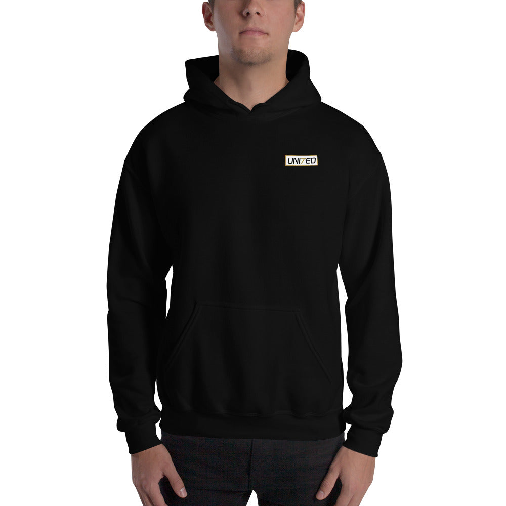UNI7ED Logo Men's Hooded Sweatshirt