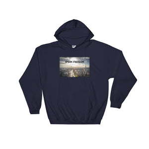 Speak Freedom Men's Hooded Sweatshirt