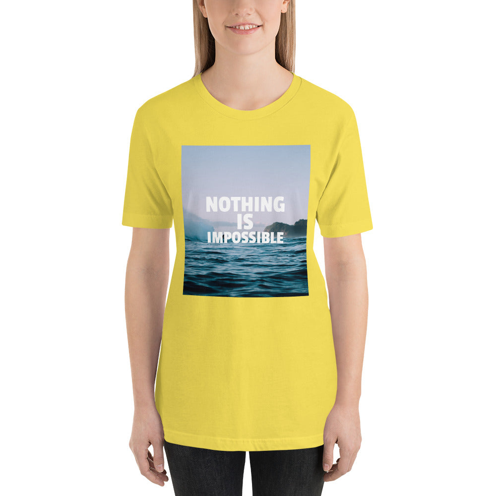 Nothing Is Impossible Women's Premium T-Shirt
