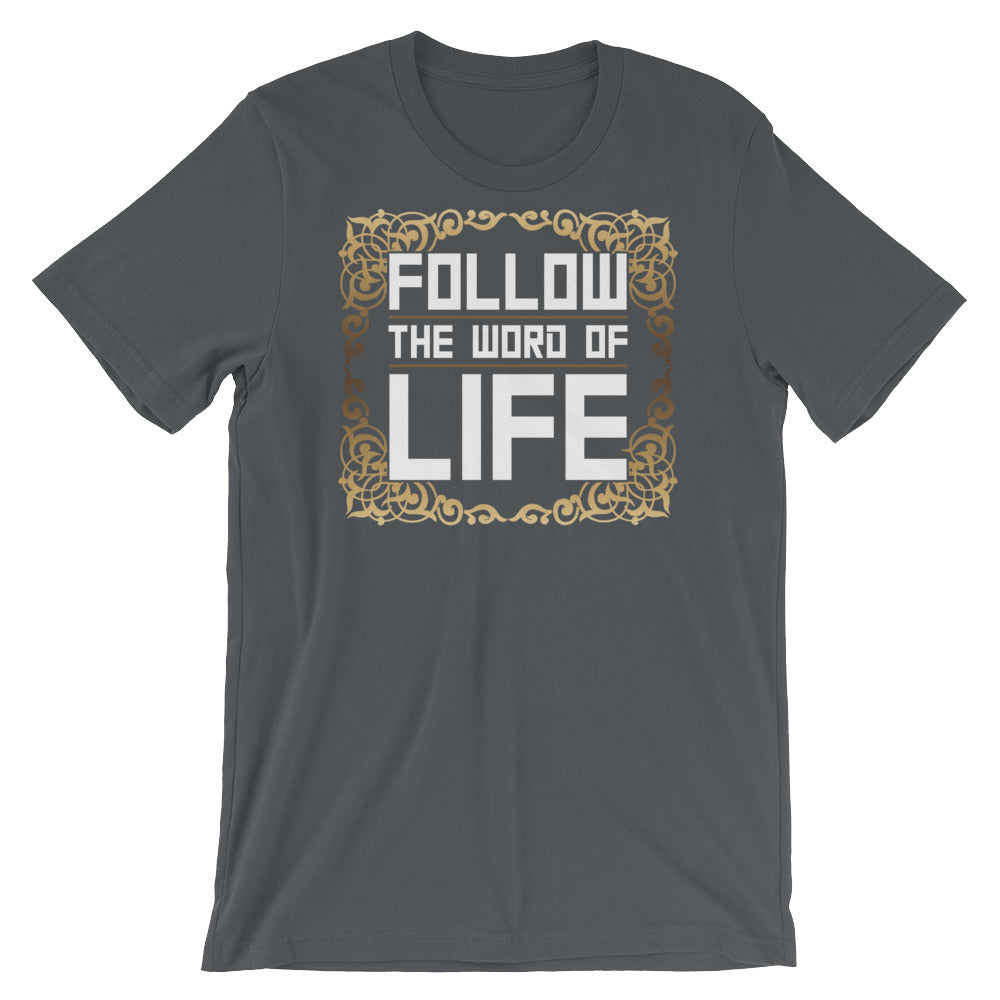 Follow The Word Of Life Men's Premium T-Shirt