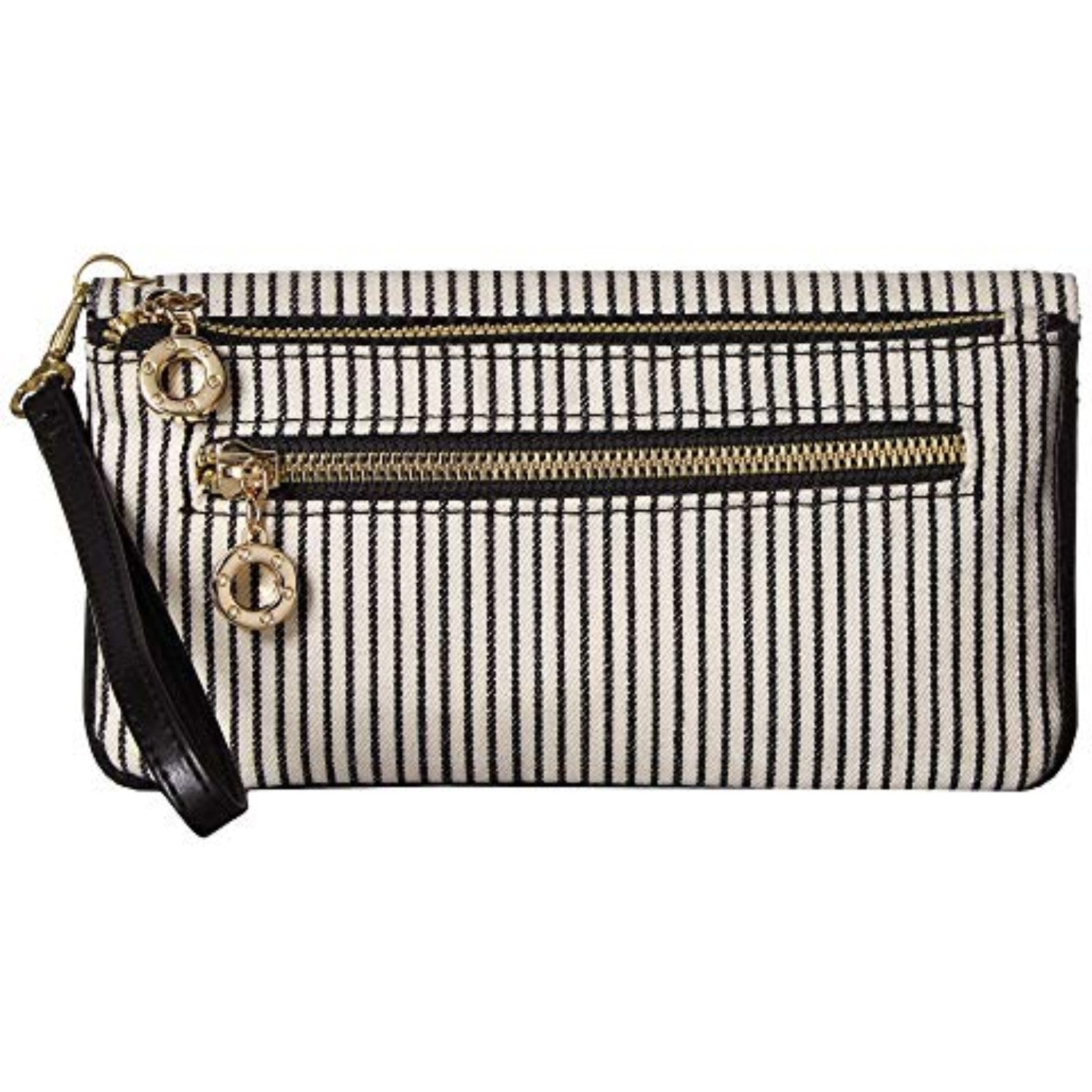 Name Wristlet (Black/White)