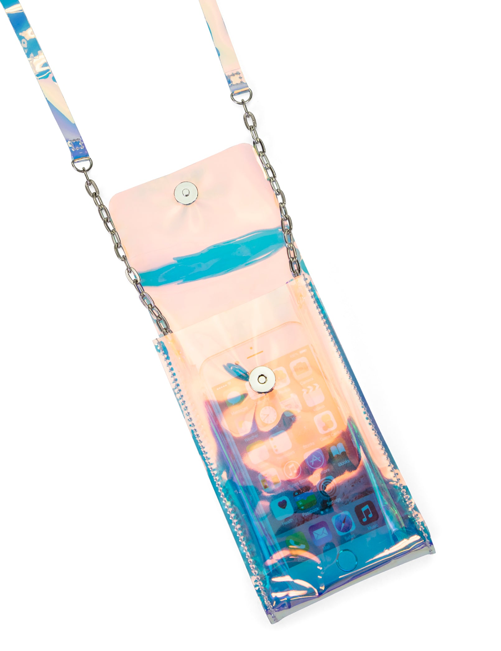 Sonic Crossbody Phone Bag (Irid Blue)