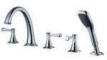Poydras WaterSense Roman Tub & Handshower (Kit)