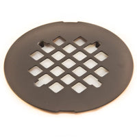 "4-1/4"" Diameter Snap-In Shower Grid"