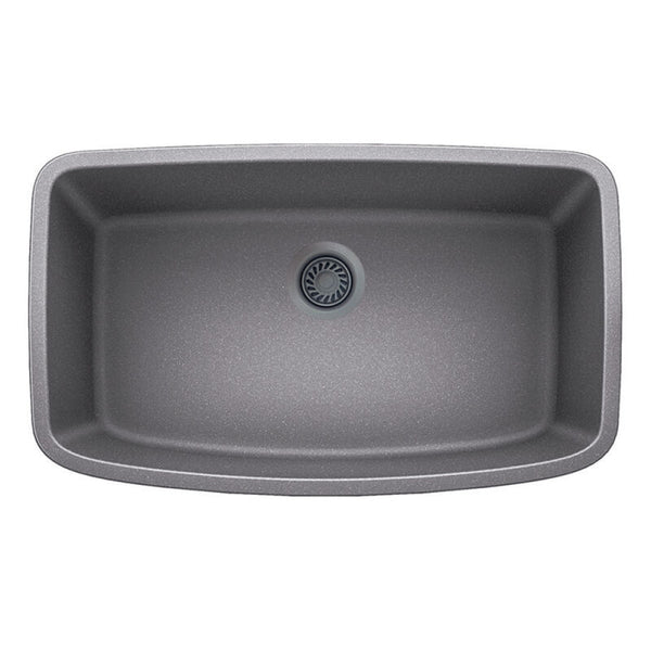 "32 X 19"" Single Bowl Undermount"