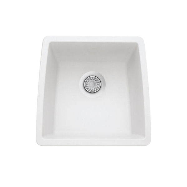 "17-1/2 X 17"" Single Bowl Undermount"