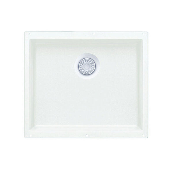 "20-3/4 X 18"" Single Bowl Undermount"