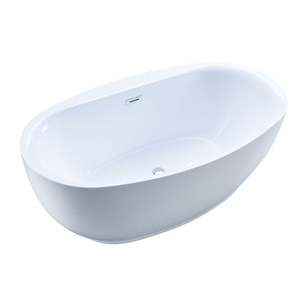 Nubina Gloss Finish Freestanding Tub