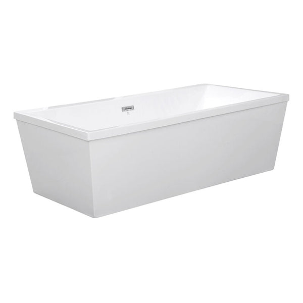 Zinzini Gloss Finish Freestanding Tub