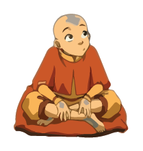 Aang The Avatar (The Last Air Bender)