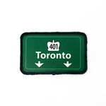 Patch - Toronto (401 Highway Sign)