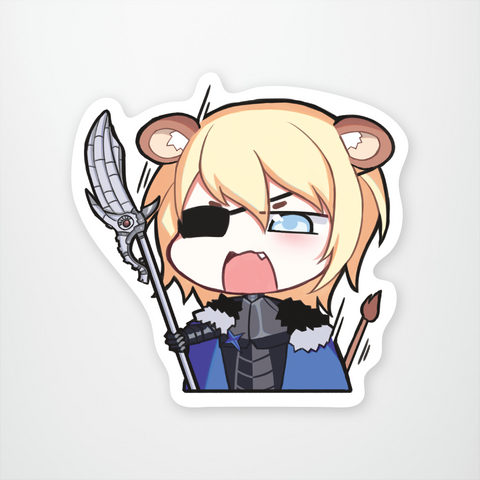 Dimitri: Angry Lion Noises