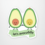 'Let's Avocuddle' by queenie's cards