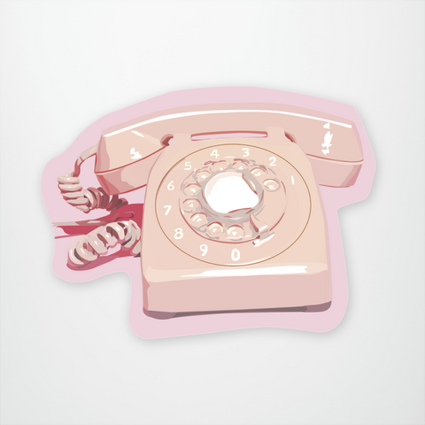 Hotline Pink Phone