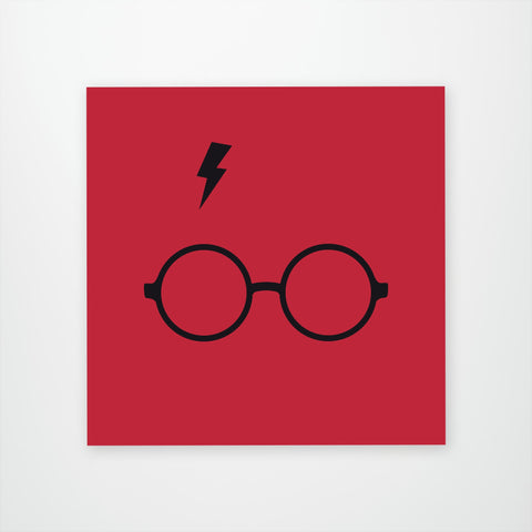 Harry Potter Scar and Glasses