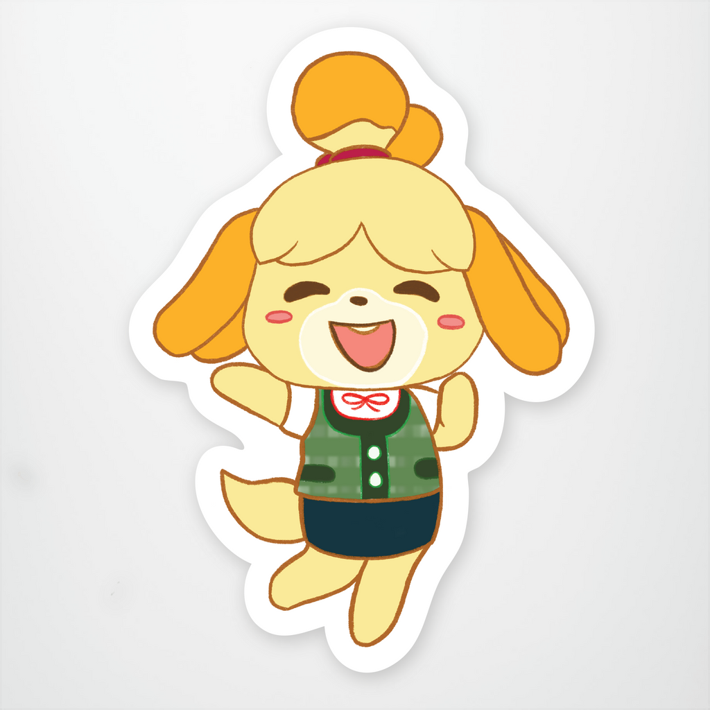 Isabelle From Animal Crossing Stickeryou Store