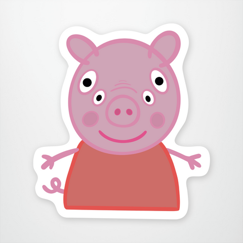 Front Perspective Peppa Pig