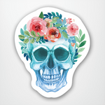 Skull with Flower Crown