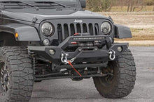 Load image into Gallery viewer, JEEP FULL WIDTH FRONT LED WINCH BUMPER (07-18 WRANGLER JK)