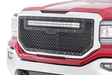 Load image into Gallery viewer, GMC MESH GRILLE W/30IN DUAL ROW BLACK SERIES LED (16-18 SIERRA 1500)