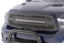 Load image into Gallery viewer, DODGE MESH GRILLE W/30IN DUAL ROW BLACK SERIES LED (13-18 RAM 1500)