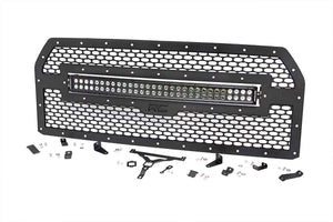 FORD MESH GRILLE W/30IN DUAL ROW BLACK SERIES LED (15-17 F-150)