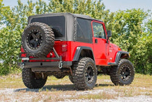 Load image into Gallery viewer, JEEP CLASSIC FULL WIDTH REAR BUMPER W/TIRE CARRIER (87-06 WRANGLER YJ/TJ)