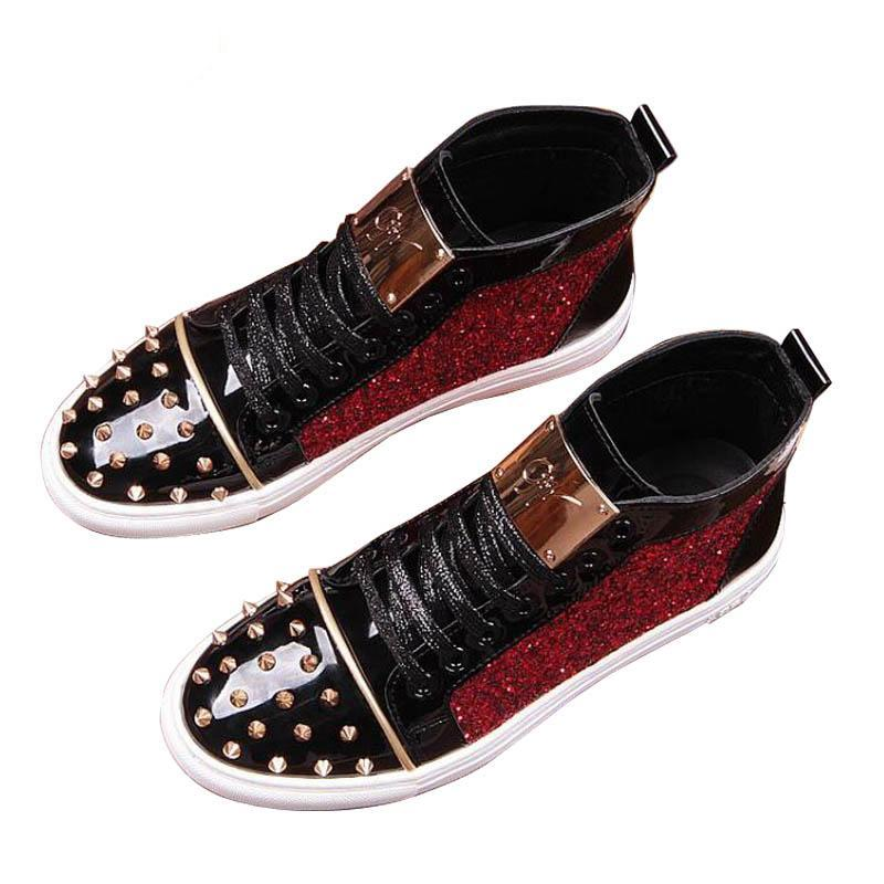 Royalty Spiked Sneakers