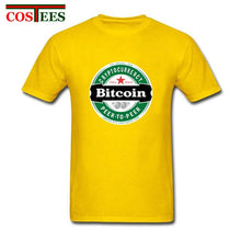 Load image into Gallery viewer, Bitcoin Brewsky T shirt Heineken Design