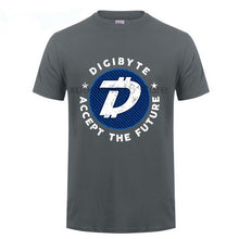 Load image into Gallery viewer, Digibyte, Accept The Future Coin Tee Men's