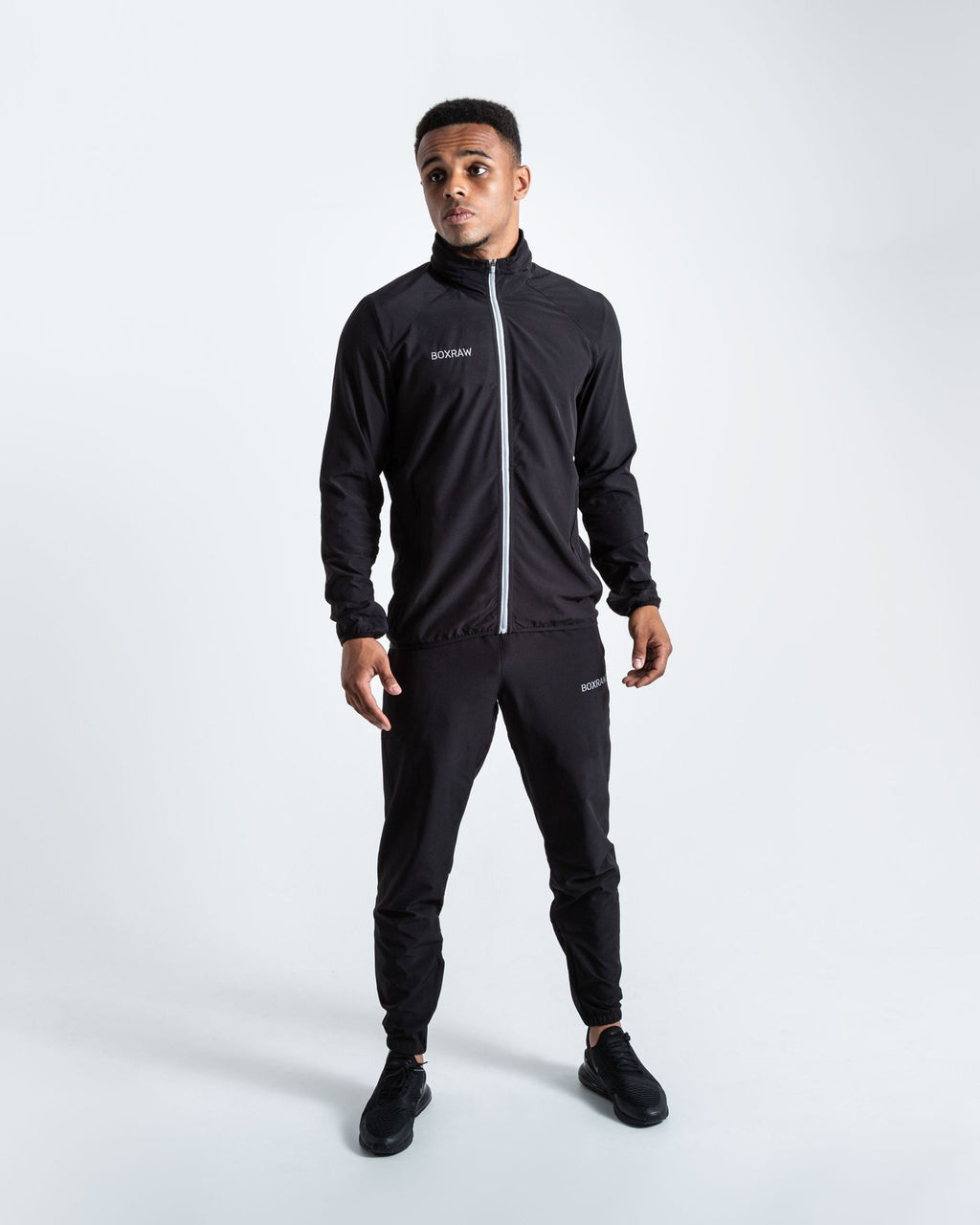 ROBINSON TRACKSUIT - BLACK - Pandemic Fight Gear Inc.