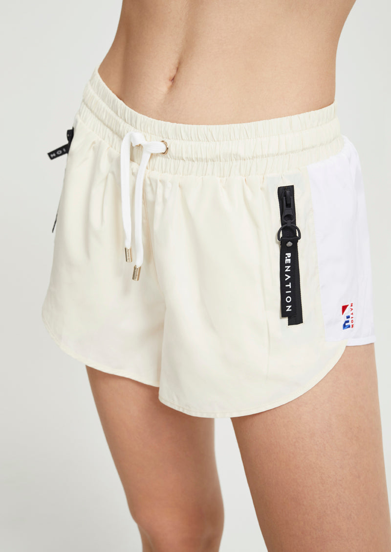 DOUBLE DRIVE SHORT - ANTIQUE WHITE