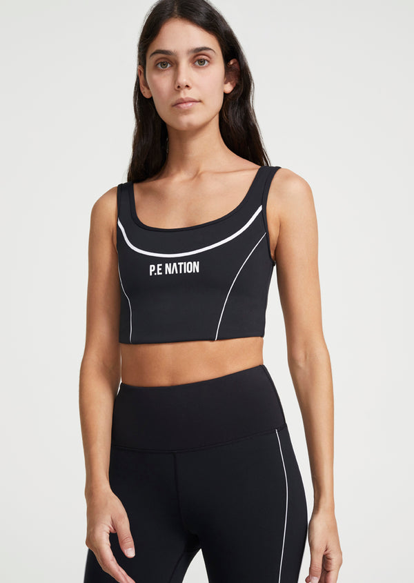 THREE POINTER SPORTS BRA