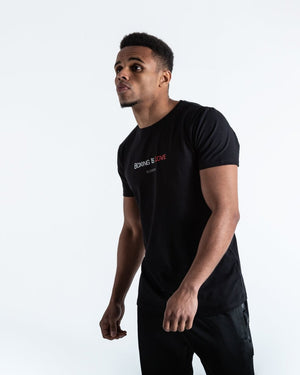 BOXING IS LOVE T-SHIRT - BLACK - Pandemic Fight Gear Inc.