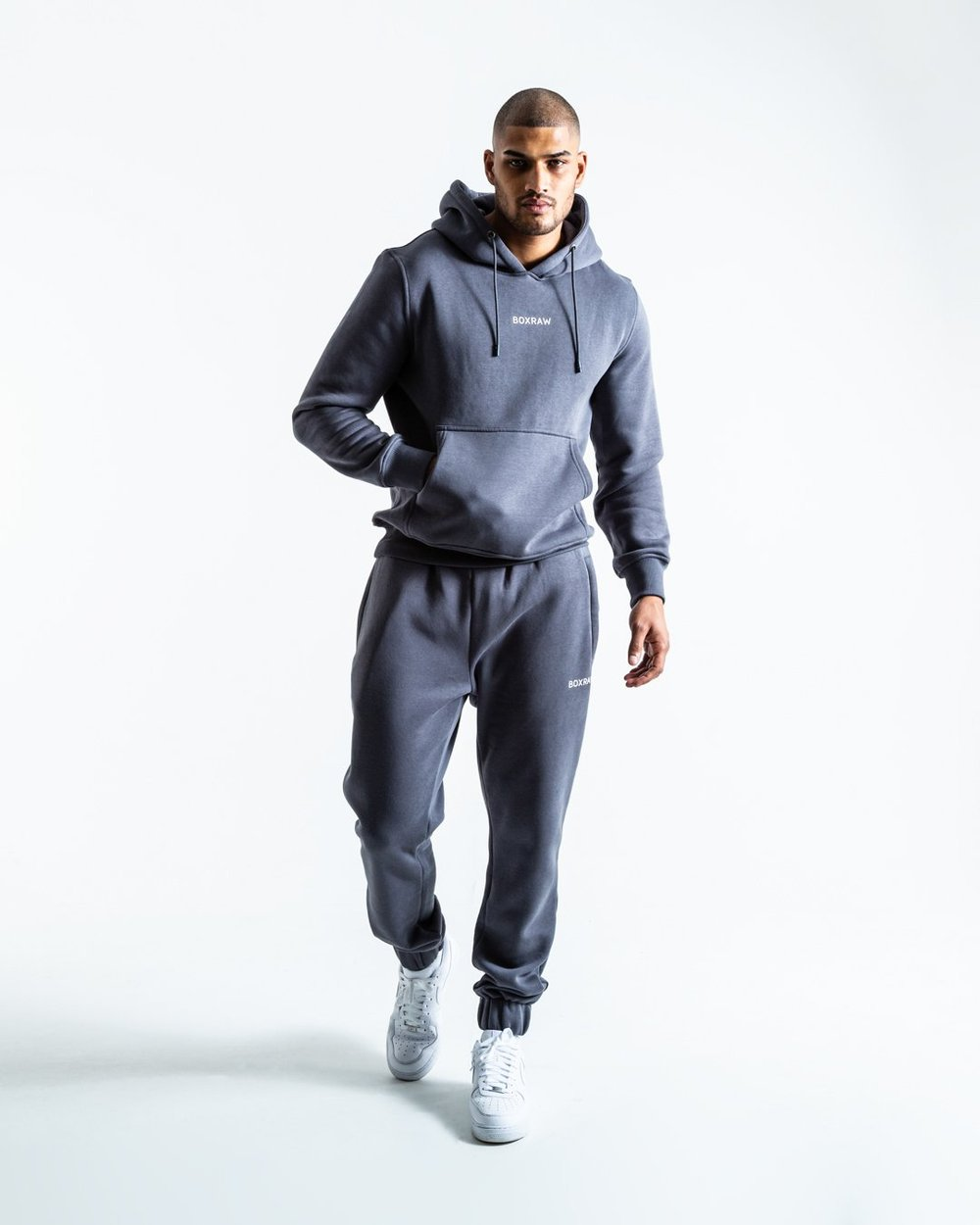JOHNSON HOODIE - CHARCOAL - Pandemic Fight Gear Inc.