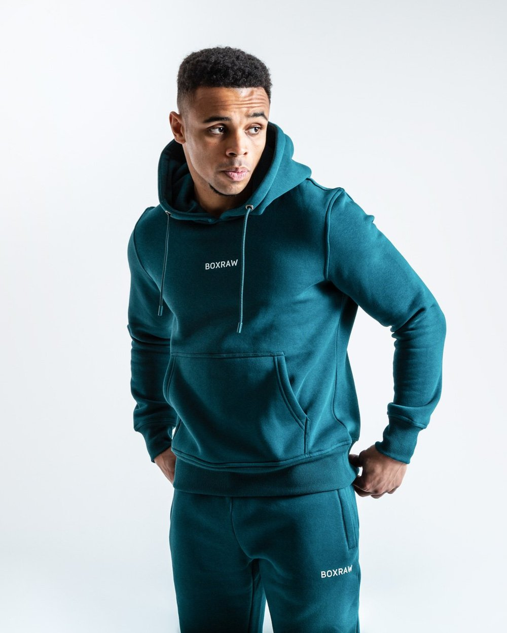 JOHNSON HOODIE - GREEN - Pandemic Fight Gear Inc.