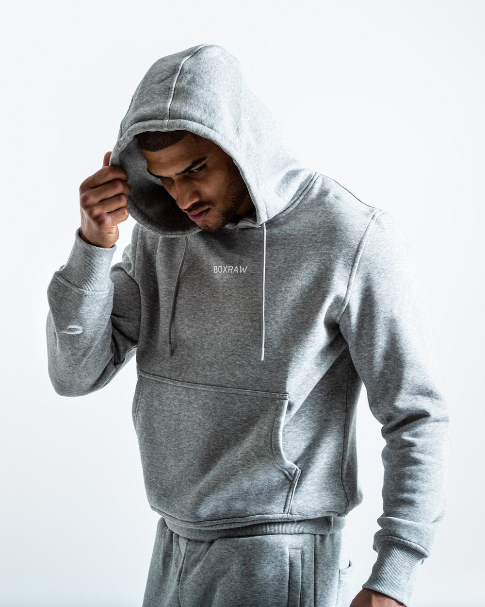 JOHNSON HOODIE - GREY - Pandemic Fight Gear Inc.