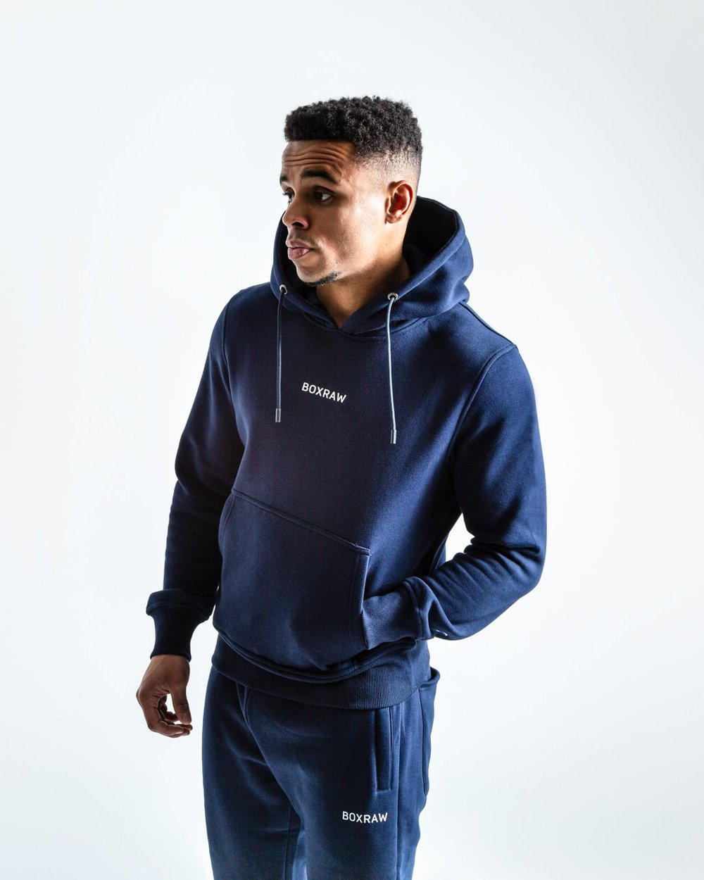 JOHNSON HOODIE - NAVY - Pandemic Fight Gear Inc.