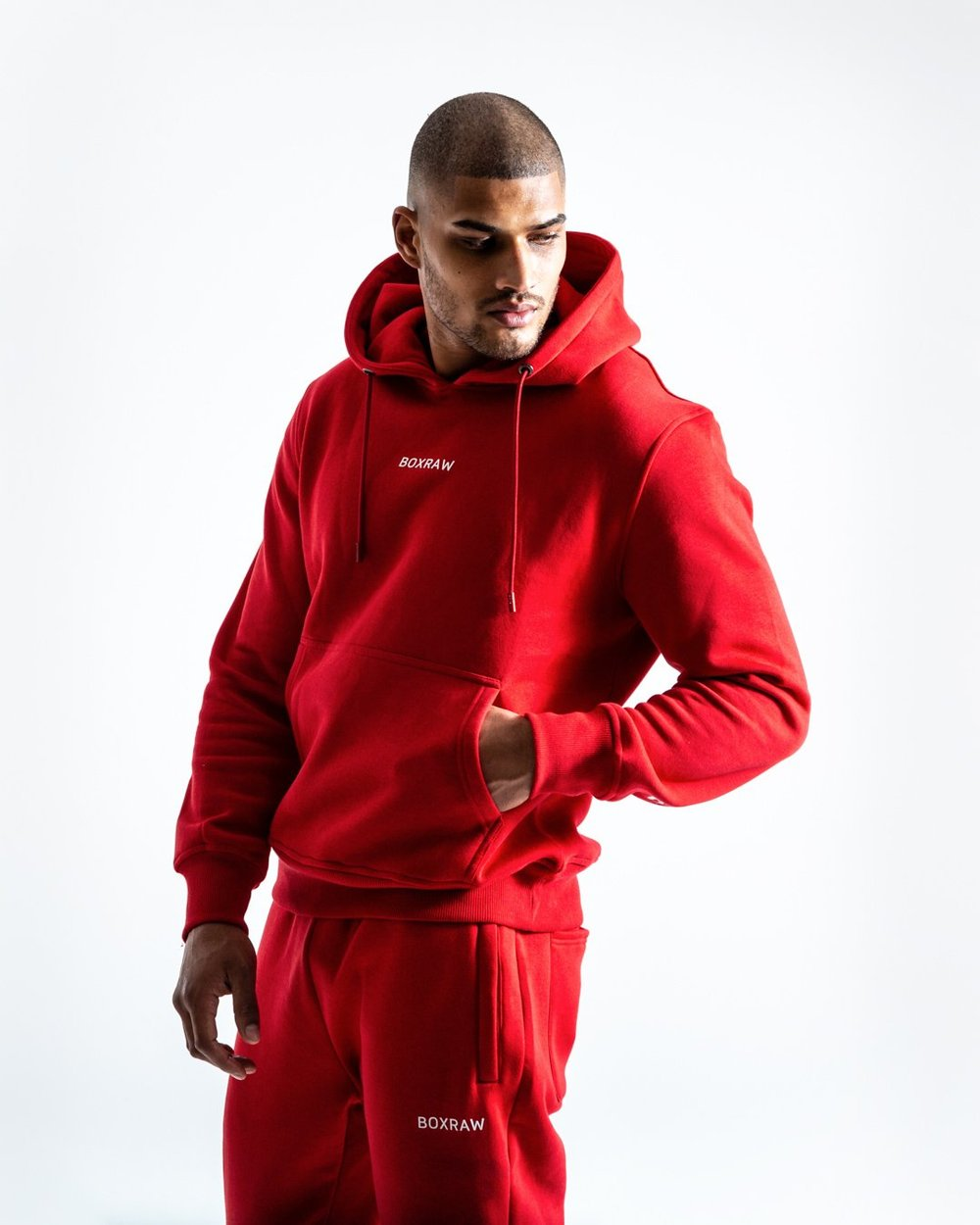 JOHNSON HOODIE - RED