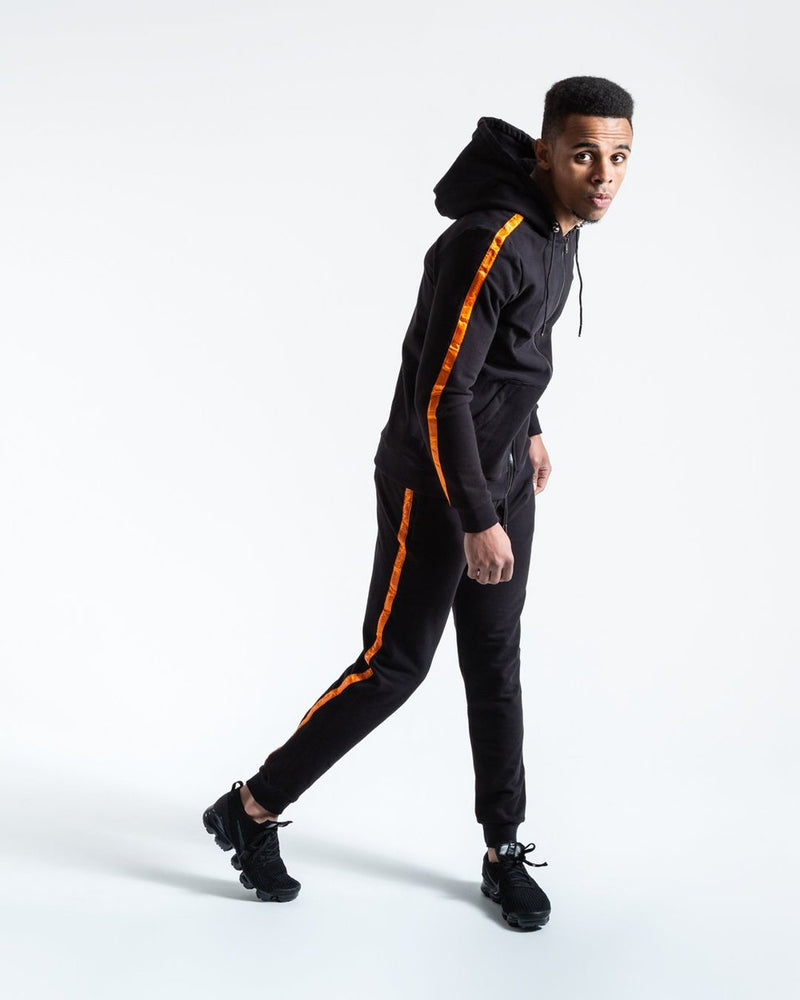 LOMA MARCIANO HOODIE - BLACK/ORANGE