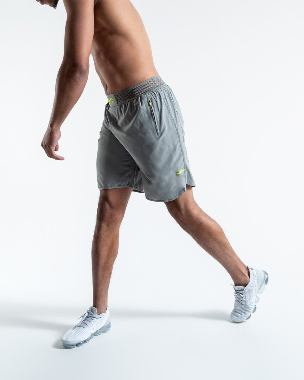 LOMA SHORTS - GREY - Pandemic Fight Gear Inc.