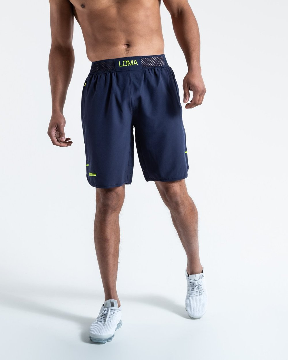 LOMA SHORTS - NAVY - Pandemic Fight Gear Inc.