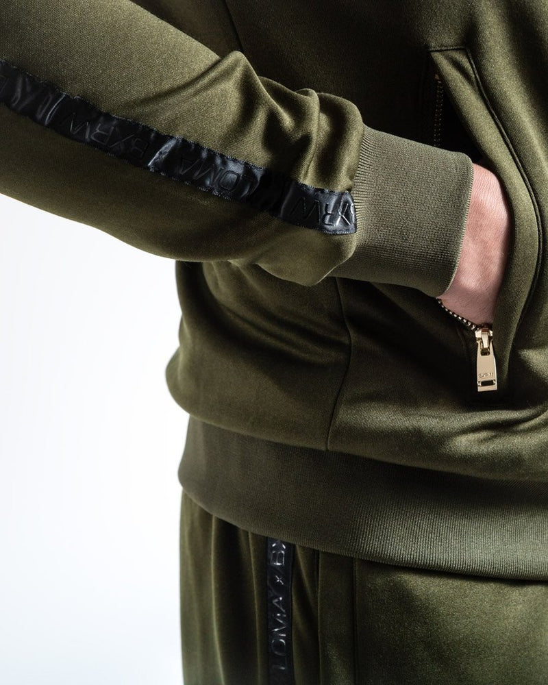 LOMA WHITAKER JACKET - OLIVE/BLACK