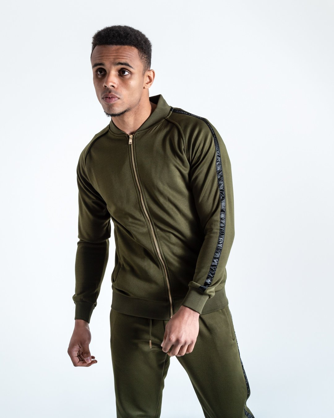 LOMA WHITAKER JACKET - OLIVE/BLACK - Pandemic Fight Gear Inc.
