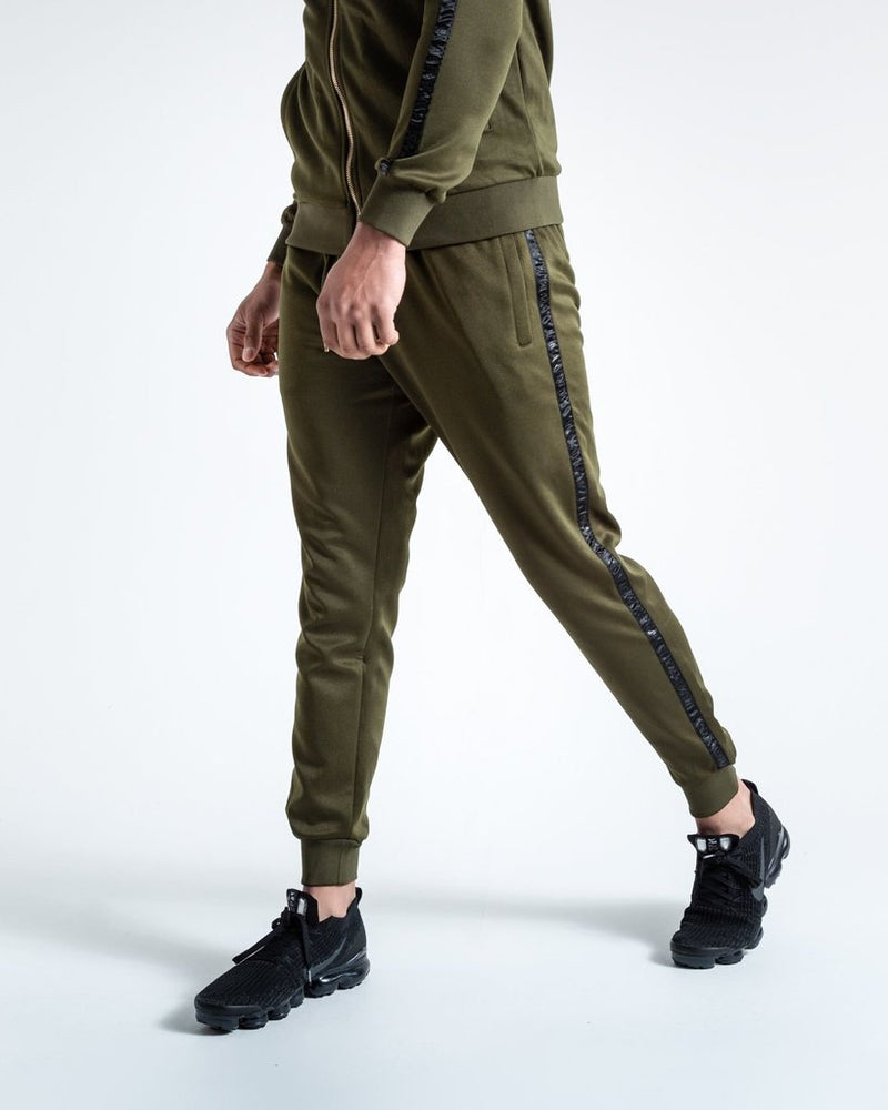 LOMA WHITAKER BOTTOMS - OLIVE/BLACK